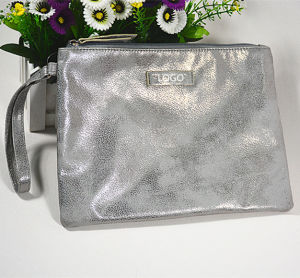 Factory Custom Promotional Luxury Silver Clutch Bag, Wrist Bag for Ladies pictures & photos