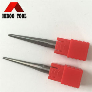 HRC55 Carbide Taper Ball Nose Milling Tools with Straight Flute pictures & photos