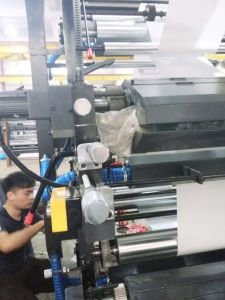 High Speed 4 Colors Plastic Flexo Printing Machine pictures & photos