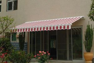Luxrious Remote Control Full Cassette Retractable Awning with CE pictures & photos