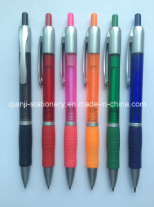 Plastic Printing Promotional Pen (P3009D) pictures & photos