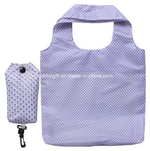 Cute Folded Polyester Shopping Bag for Women pictures & photos