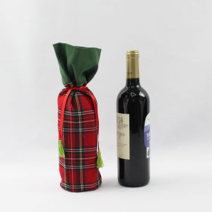 Fancy Customized Christmas Wine Gift Bags pictures & photos