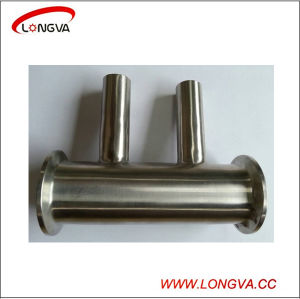 Tri Clover Clamp Stainless Steel Pipe Fitting Sanitary Spool pictures & photos
