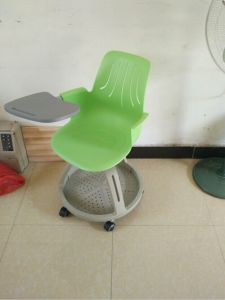 Removable Plastic Steelcase Training School Chair with Writing Pad (SF-50F) pictures & photos