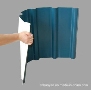 Shanghai Supplier Strong PVC Roof Tile with Cost Price pictures & photos