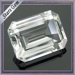 Octagon Special Emerald Cut Natural White Toapz for Jewelry pictures & photos