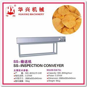 Ss-Inspection Conveyer (Potato Chips Cracker Production) pictures & photos