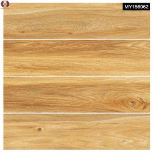 Four Designs Building Material Wooden Grain Ceramic Floor Tile (MY156062) pictures & photos