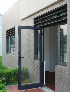 Most Popular Finished Aluminum Casement Door pictures & photos