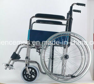 Steel Manual Foldable Fast Knoked Down Wheelchair (SC809KD) New pictures & photos