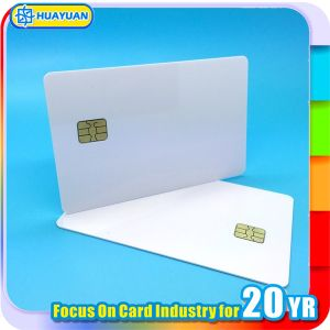 ISO 7816 Printable Sle5542 / Sle4442 RFID Contact IC Chip Card pictures & photos