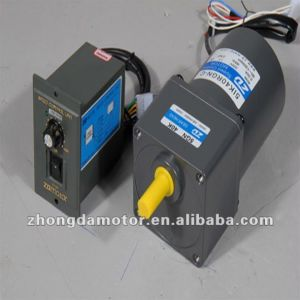 ZD 80mm 25W AC Speed Control Gear Motor pictures & photos
