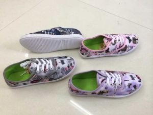 Wholesale Lady Canvas Soft Shoes (WH1019)