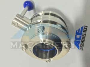 Widely Use Professional Made Sanitary Butterfly Valve Handles pictures & photos