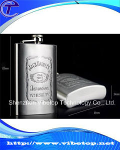 2014 Hot Wholesale Fashion Stainless Steel Cute Wine Flagon pictures & photos