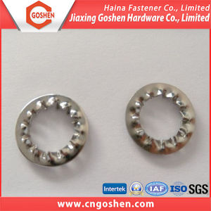 Stainless Steel Serrated Lock Washers with Internal Teeth pictures & photos