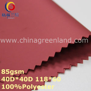 Twill Polyester Memory Fabric for Garment Textile (GLLML310) pictures & photos