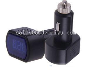 Digital LCD Car Cigarette Lighter Voltage Meter Monitor Car Voltmeter pictures & photos