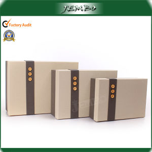 Fashion Cardboard Promotion Gift Packaging Box Set Price pictures & photos
