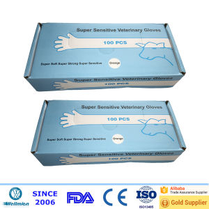 Disposable Veterinary Plastic Gloves in High Quality pictures & photos