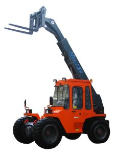 Tmt25 2.5ton to Tmt40 4ton Cummins Engine Telescopic Forklift for Sale pictures & photos