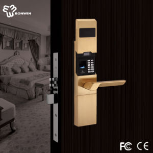 Fingerprint Lock with Keypad +Passord+LCD+ Slip Cover pictures & photos