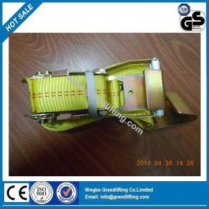 Us Standard Auto Ratchet Tie Down Strap pictures & photos