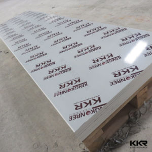 White Marble Acrylic Solid Surface Stone Sheets for Sale (170520) pictures & photos