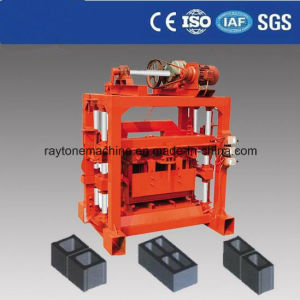Equipment for Small Business at Home! ISO Certificate Cheapest Cement Concrete Hollow Block Making Machine Qtj4-40b2 pictures & photos
