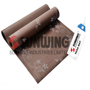 Good Quality Beautiful Eco Anti Slip Yoga Mat pictures & photos