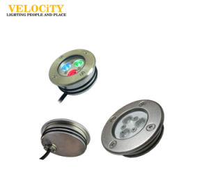 3W/6W Stainless Steel IP68 RGB LED Underwater Lights for Swimming Pool pictures & photos