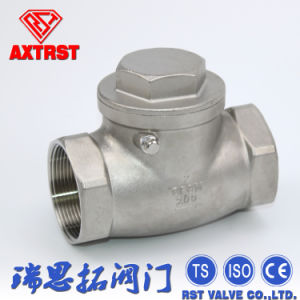 Thread Non-Return Swing Type Check Valve pictures & photos