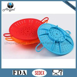 100% Food Grade Silicone Steamer for Cooking Food Silicone Cookware Sk02