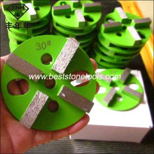 CD-49 HTC Diamond Metal Bond Floor Grinding Pad for Concrete pictures & photos