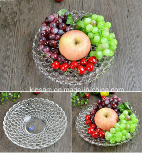 Fashion Crystal Glass Fruit Bowl for Tableware pictures & photos