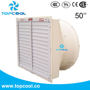 """Exhaust Fan 50"""" with Cone and Shutter for Livestock with Amca Text Report pictures & photos"""