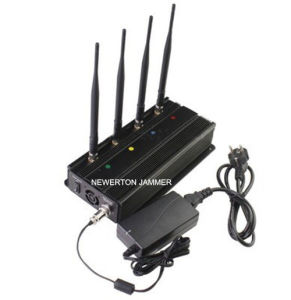4 Bands Desktop 5.2g 5.8g Wi-Fi Signal Jammer Blocker pictures & photos