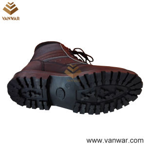 Black Military Combat Booots of Antislip Rubber Outsole (WCB049) pictures & photos