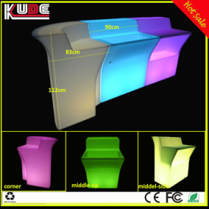 Factory Wholesale Price LED Illuminated Bar Counter pictures & photos