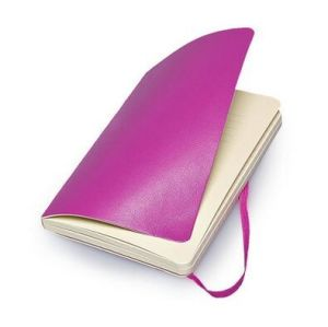 Purple Soft Suede Moleskine Leather Notebook pictures & photos