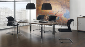 Modern Elegant Modular Oval Shape Small Conference Table (SZ-MT121) pictures & photos