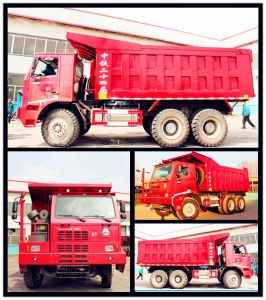 Sinotruk HOWO 6X4 370HP Mining Dump Truck pictures & photos