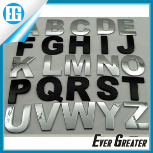Customized Chrome Car Badge Letters with ISO/Ts16949 Certified pictures & photos