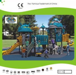 Kaiqi Medium Sized Cool Robot Themed Children′s Outdoor Playground (KQ10103A) pictures & photos