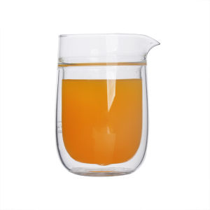 Borosilicate Double Wall Glass Cup Double Wall Glass pictures & photos