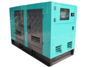 Silent Diesel Power Generator Set with Intelligent Contoller Panel pictures & photos