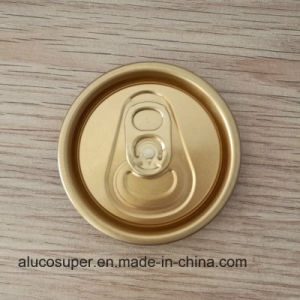 Beverage Can with 202 Sot Rpt Eoe Aluminum Lids pictures & photos