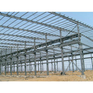 Low Cost Light Steel Prefabricated Modern Warehouse/Workshop pictures & photos