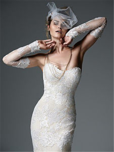 Lace Tulle Satin Mermaid Wedding Dresses W27 pictures & photos